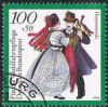 Germany SG2601 1994 Costumes (2nd series) 100pf+50pf good/fine used